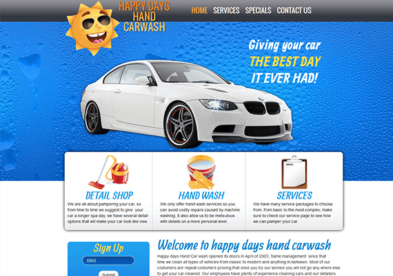happy days | atlanta web design