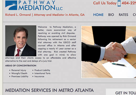 pathway mediation | affordable web design atlanta
