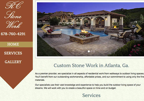 rcstone | atlanta web design
